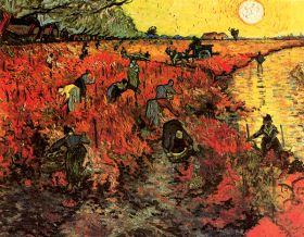 Van Gogh - The Red Vineyard