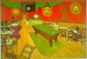 Nocna kawiarnia Vincent Van Gogh - reprodukcja