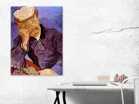 Vincent Van Gogh Portret Dr Gachet