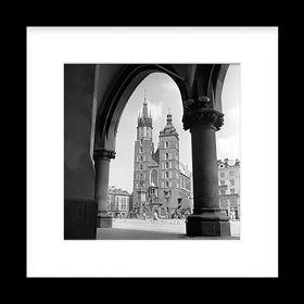 Passe-partout - Widok na Kościół Mariacki z Sukiennic