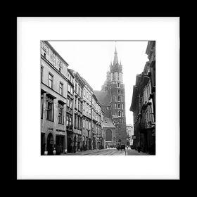 Passe-partout - Ulica Floriańska z Kościołem Mariackim