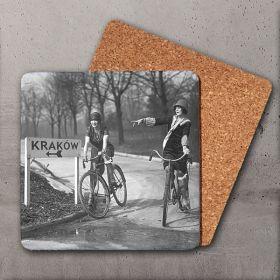 Podkładka - Dziewczyny na rowerach