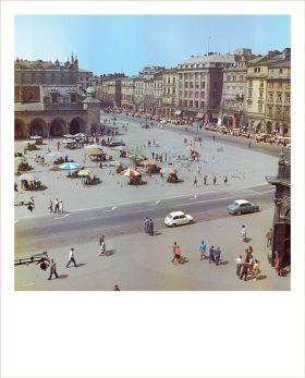 Kartka Polaroid - Lato na Rynku