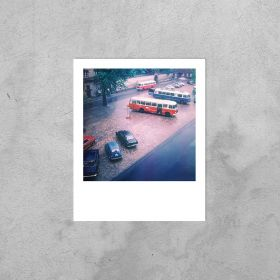 Kartka Polaroid - Plac Biskupi