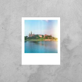 Kartka Polaroid - Wawel