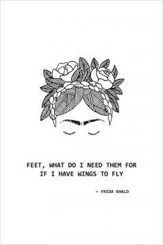 Kartka - Frida Kahlo