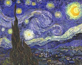 Vincent Van Gogh Gwiaździsta noc - reprodukcja