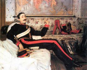 James Tissot  - Colonel Frederick Gustavus Burnaby