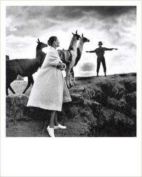 Kartka Polaroid - Lama