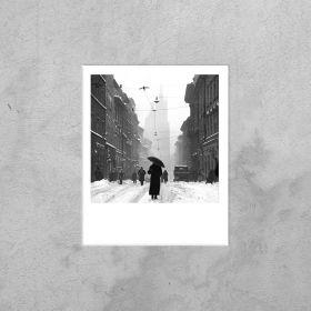 Kartka Polaroid - Pani na Floriańskiej