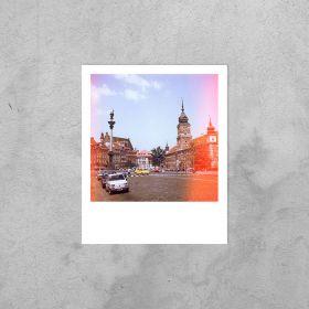 Kartka Polaroid - Warszawa