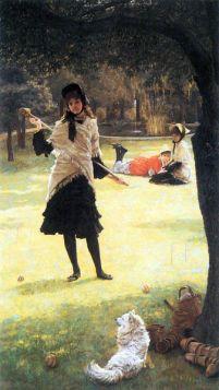James Tissot  - Cricket