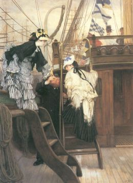 James Tissot  - Entry to the yacht
