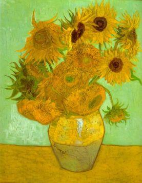 Słoneczniki Van Gogh - reprodukcja