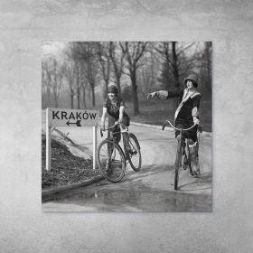 Plakat - Dziewczyny na Rowerach
