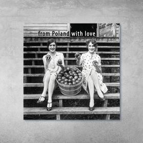 Plakat - Dziewczyny z Jabłkami