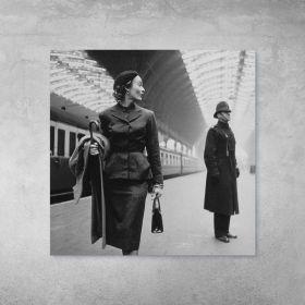Plakat - Victoria Station, London