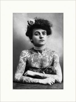 Maud Wagner - zdjęcie z passe-partout