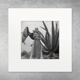 Frida z Agawą - zdjęcie z passe-partout