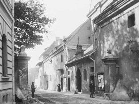 ul. Reformacka w Krakowie - fotografia vintage
