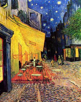 Taras kawiarni w nocy Vincent Van Gogh - reprodukcja