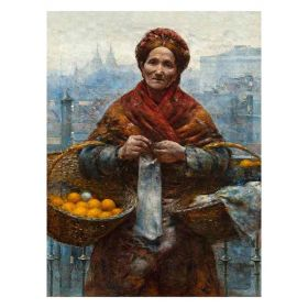 Pomarańczarka - Aleksander Gierymski - magnes