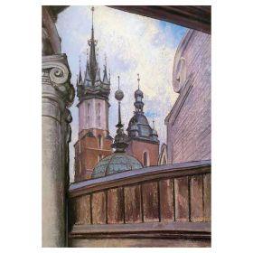 Wieże kościoła Mariackiego - Stanisław Wyspiański - magnes