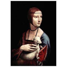 Dama z Łasiczką - Leonardo Da Vinci - magnes