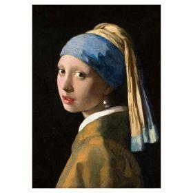 Dziewczyna z perłą Johannes Vermeer - magnes