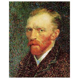 Van Gogh - Self-Portrait III - magnes