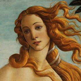 Narodziny Venus, detal - Sandro Botticelli -  magnes