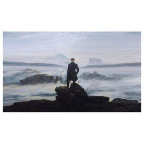 Wędrowiec nad morzem mgły – Caspar David Friedrich - magnes
