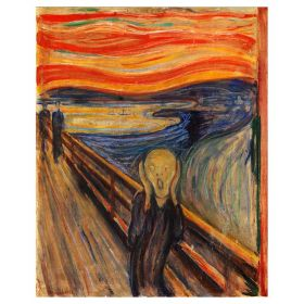Krzyk - Edvard Munch - magnes