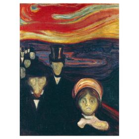 Anxiety - Edvard Munch - magnes