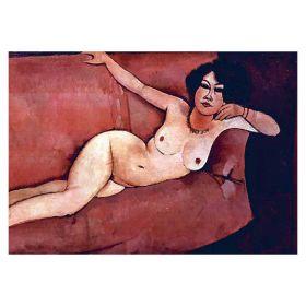 Act on a sofa - Amadeo Modigliani- magnes