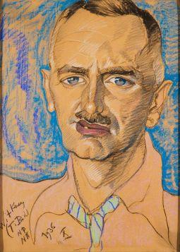 Portret Mieczysława Gajewicza - Witkacy