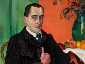 Autoportret z Jabłkami - Witkacy