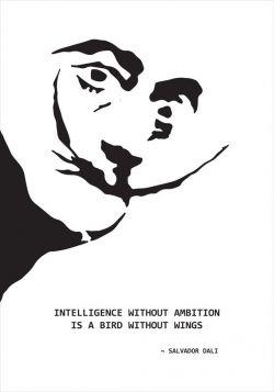Salvador Dali - poster