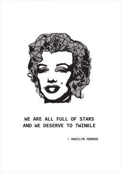 Marilyn Monroe - poster