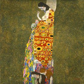 Opuszczona nadzieja - Gustav Klimt - reprodukcja