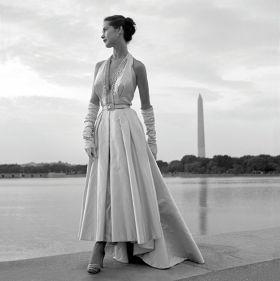 Modelka w Waszyngtonie