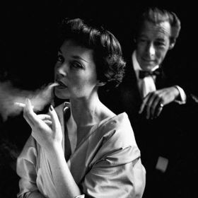 Portret Lilli Palmer i Rex Harrison - reprodukcja