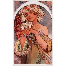 Alfons Mucha - Flowers