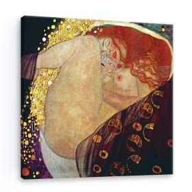 Danae - Gustav Klimt - reprodukcja