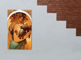 Alfons Mucha - Fruit