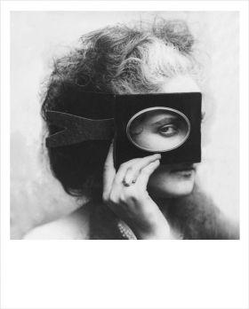 Kartka Polaroid - Oko - Virginia Oldoini