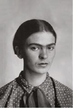 Kartka pocztowa - Frida Kahlo, portret