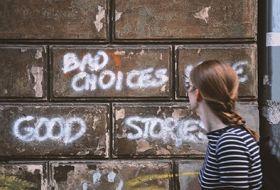 Kartka pocztowa - Street Art: Bad Choices