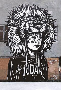 Kartka pocztowa - Street Art: Judah