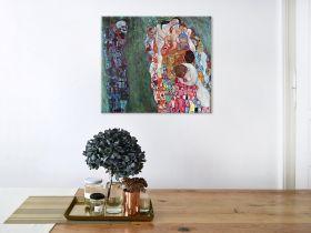 Śmierć i życie - Gustav Klimt - reprodukcja